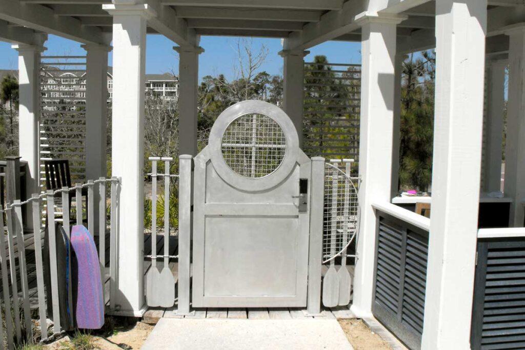 Aluminium Series Gate